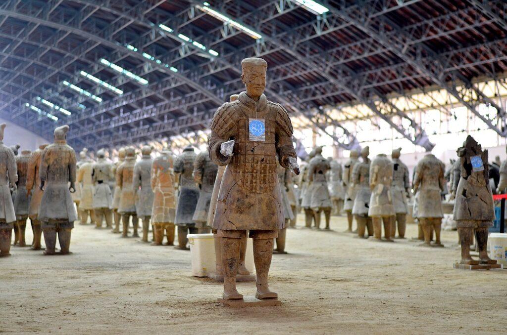 China Xian Travel Warrior Xi An china TOURHIKER