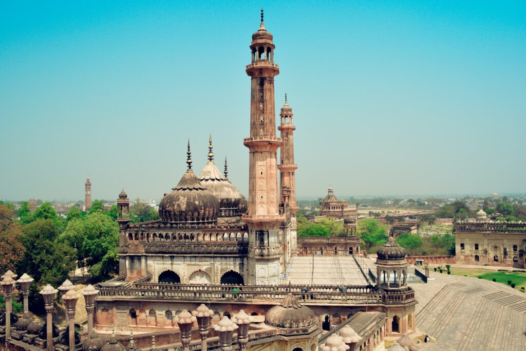 Ancient architectural design in lucknow india