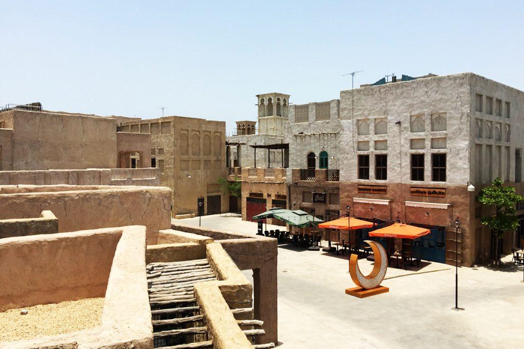 Number of Ancients buildings in way preserving heritage of UAE