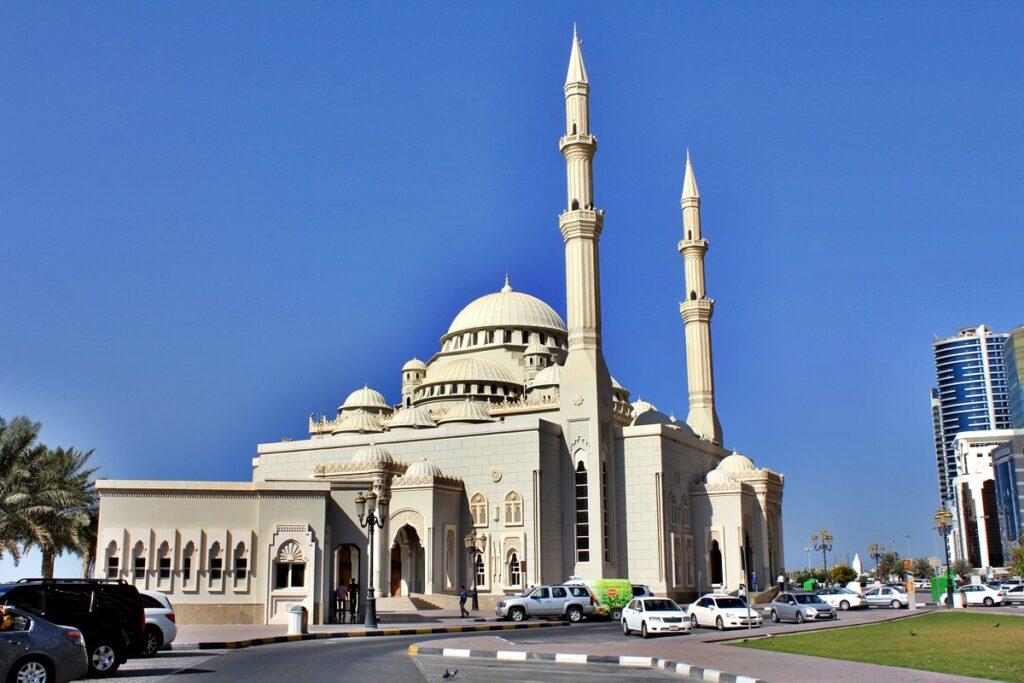 Mosque of Sharjah, United Arab Emirates