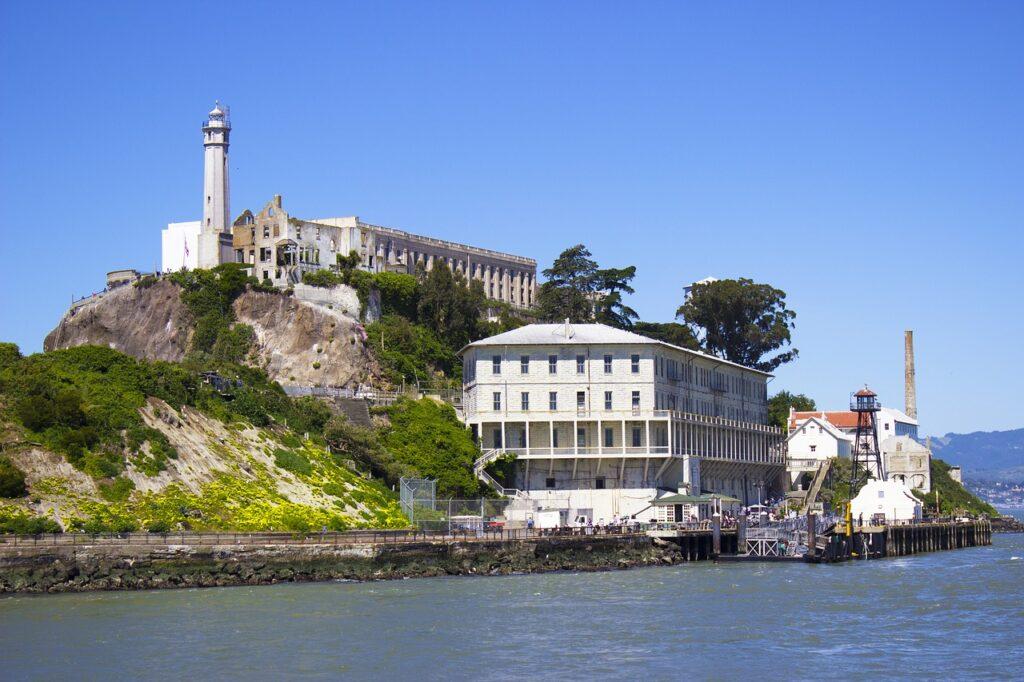 Alcatraz Island offshore