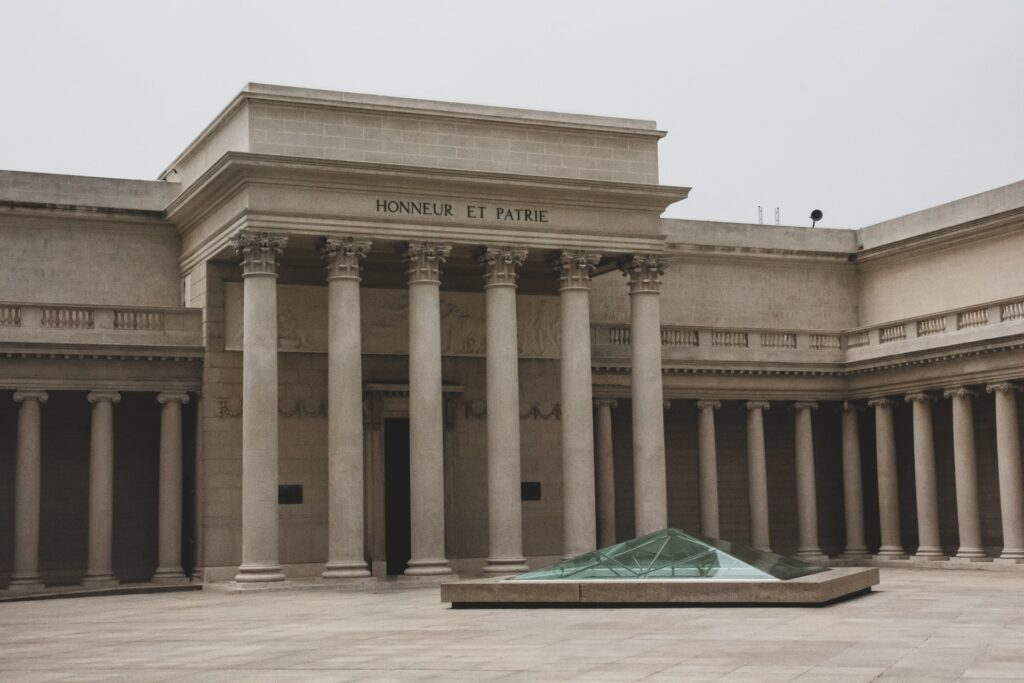 Legion of Honour Fineart museum on outside view