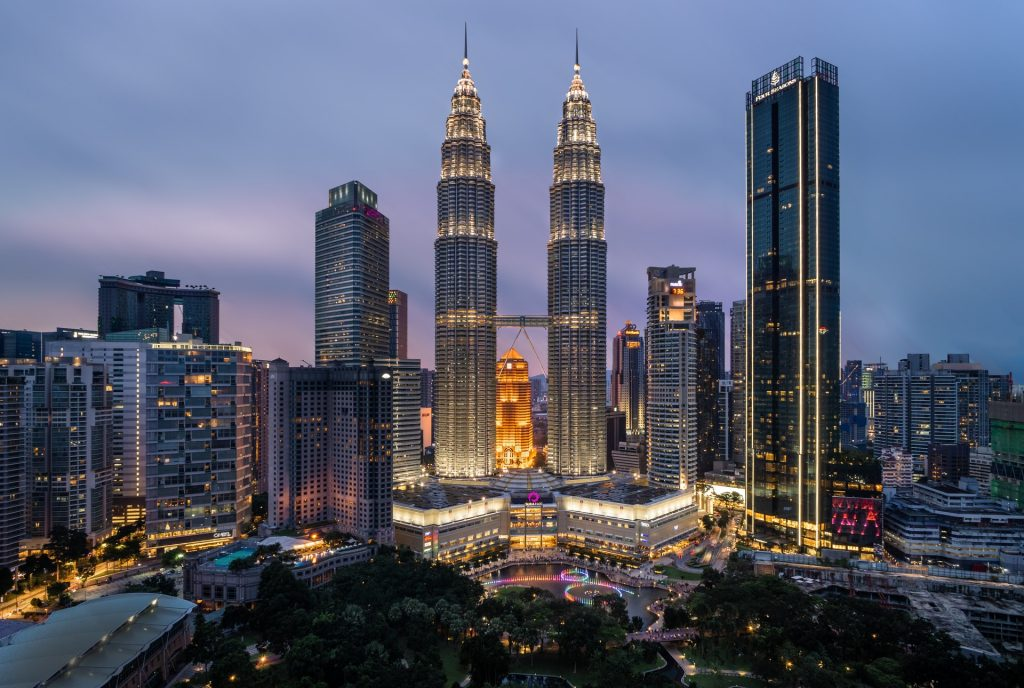 Malaysia's famous twin tower