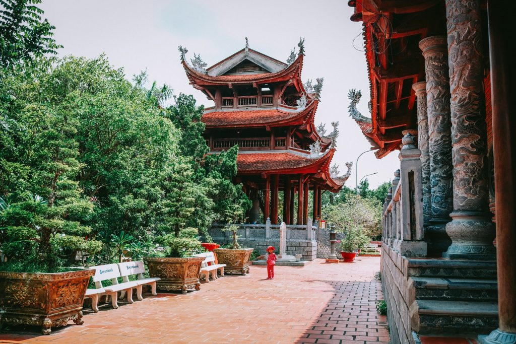 Chinese inspired temples in Vietnam