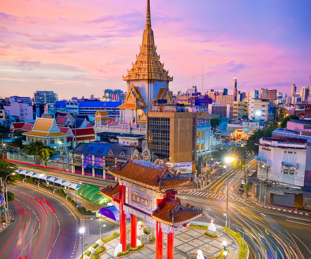 Time Lapse Photography in the city proper of Bangkok, Thailand