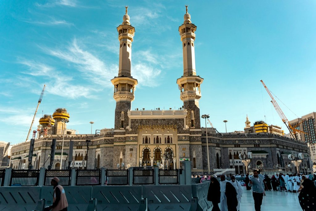 Masjid al-Haram is the largest mosque in the world, and the grandiloquent structure can accommodate a million worshippers