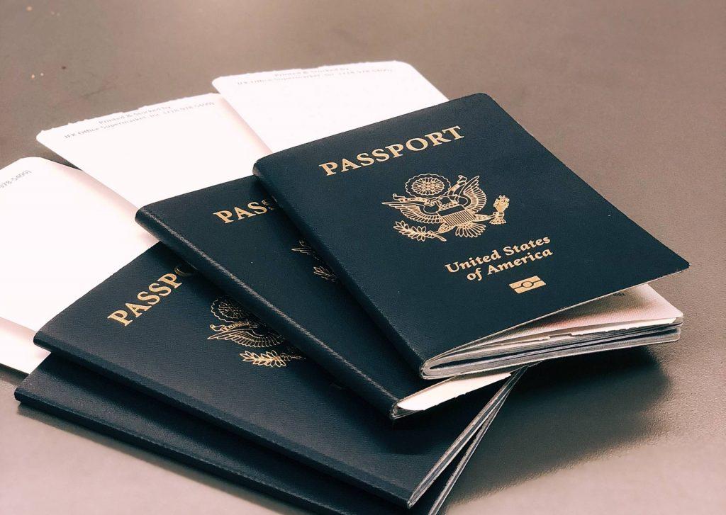 3 Passports of USA